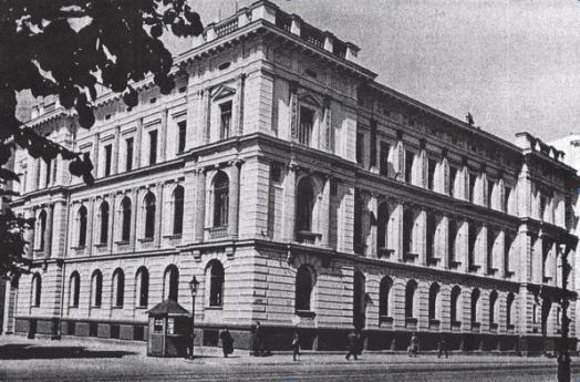 Ēka K. Valdemāra ielā 1B 1937. gadā