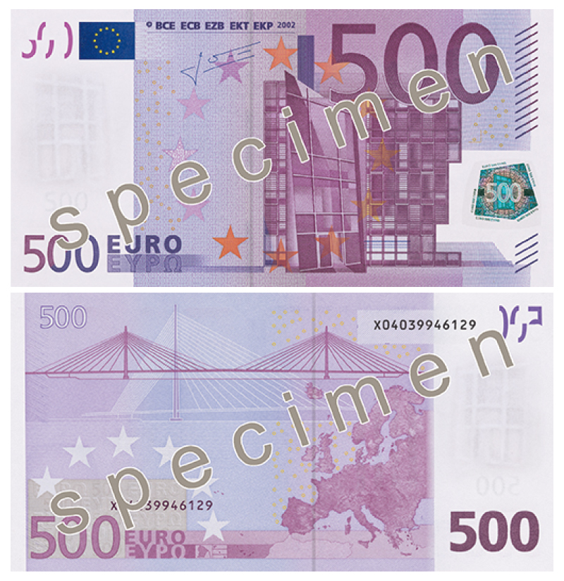 500 euro banknote will no longer be issued