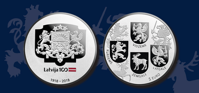 Coat of Arms Coin obverse and reverse