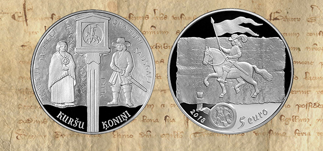 Collector coin Curonian kings